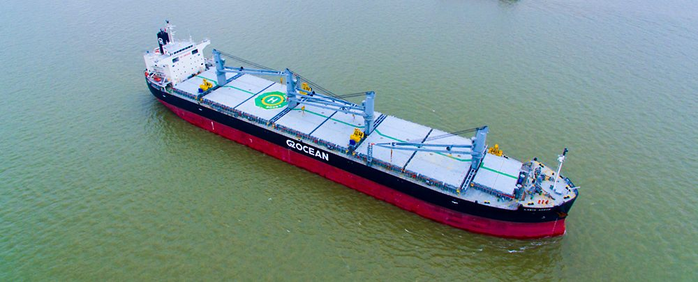 The first G2 Ocean vessels at sea